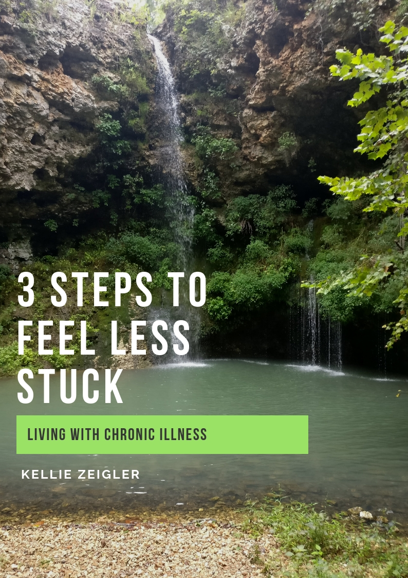 Peaceful Waterfall Steps to Feel Less Stuck